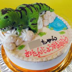 恐竜ティラノサウルスケーキ