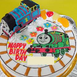 トーマスとパーシーのケーキ