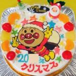 アンパンマンのクリスマスケーキ