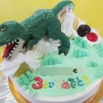 ティラノサウルス恐竜ケーキ