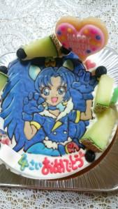 プリキュアケーキ