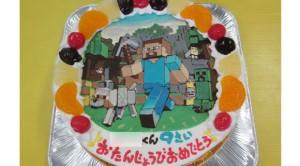 Minecraft(マインクラフト)ケーキ