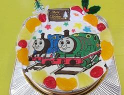 トーマス パーシーケーキクリスマスバージョン