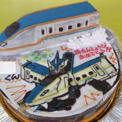 新幹線かがやき、シンカリオンケーキ