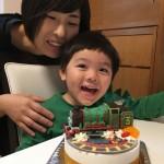 ヘンリー立体ケーキ