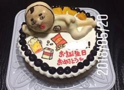 おじさん立体ケーキ