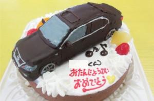 レクサス車立体ケーキ