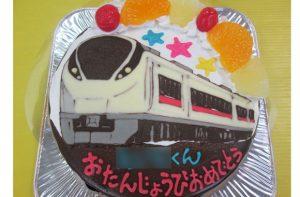 電車ひたちケーキ