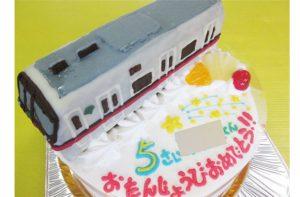 大江戸線電車ケーキ
