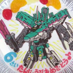 シンカリオンE5はやぶさケーキ