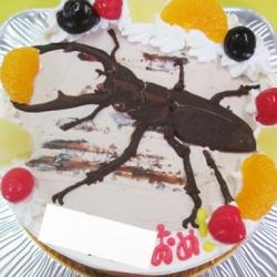 くわがたケーキ