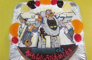 シンカンセントリニティイラストケーキ