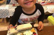 シンカリオンと新幹線立体ケーキ