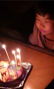 スプラトゥーンケーキ