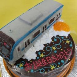 東西線電車立体ケーキ