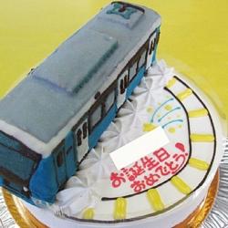 電車ケーキ静岡鉄道 A3000