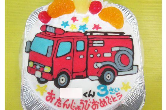消防 車 イラスト