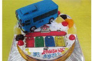 タヨバス立体ケーキ
