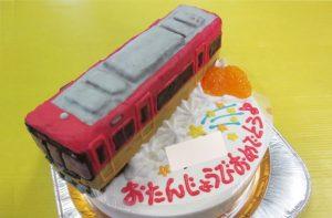 京阪電車ケーキ