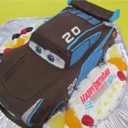 カーズのジャクソンストームケーキ