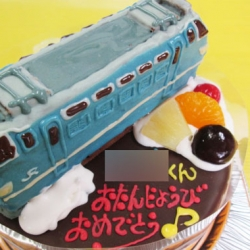 EF66 27電気機関車立体ケーキ