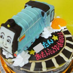 トーマスの仲間スペンサー立体ケーキ