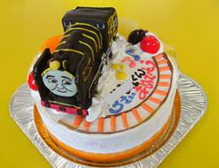 トーマスの仲間ヒロ立体ケーキ
