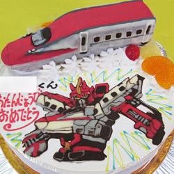 シンカリオンこまちケーキ