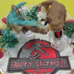 ジェラシックパーク恐竜ケーキ