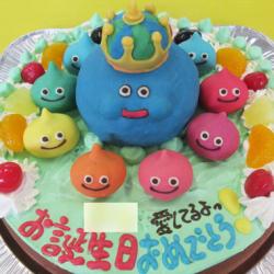 キングスライム立体ケーキ