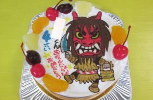 なまはげケーキ