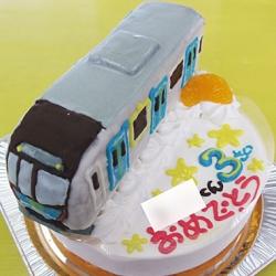 西武鉄道40000系電車立体ケーキ