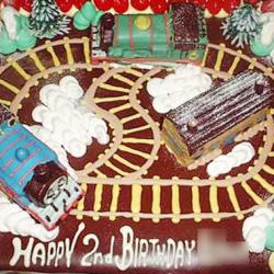 トーマスパーティーケーキ