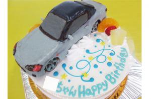 ホンダS2000車立体ケーキ
