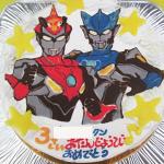ウルトラマンルーブ2体イラストケーキ