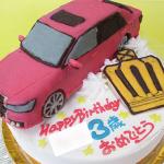 トヨタクラウン車立体ケーキ