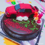 三菱ランエボⅨ車立体ケーキ