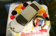 BMW車ケーキ