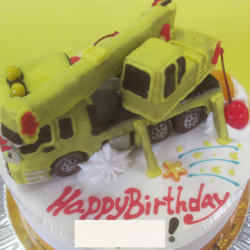 クレーン車ケーキ