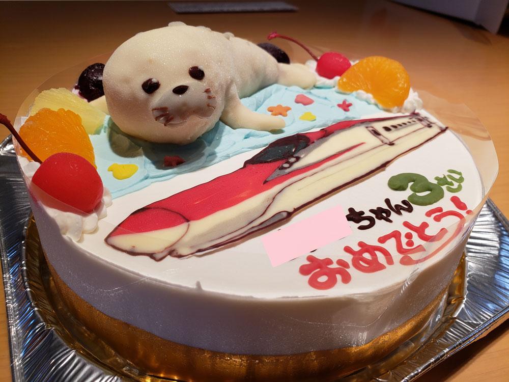 あざらし&こまちのケーキ