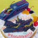ブラックシンカリオンケーキ