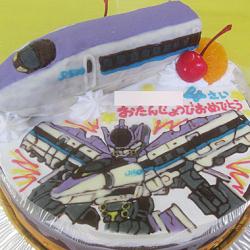 シンカリオン500ケーキ