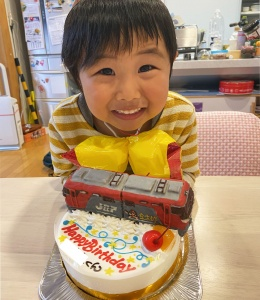 貨物列車金太郎電車ケーキ