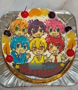 すとぷりイラストケーキ