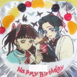 胡蝶しのぶ・栗花落カナヲのケーキ