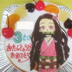 鬼滅の刃ねずこケーキ