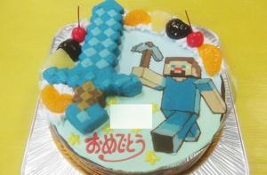 マインクラフトケーキ