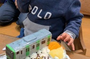 山手線電車立体ケーキ