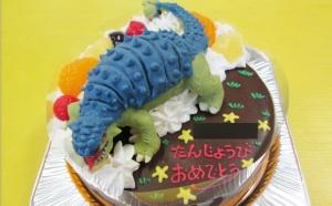 アンキロサウルス恐竜ケーキ