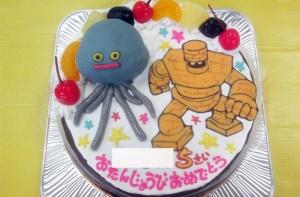 ドラクエのメタルホイミンとゴールドマンケーキ